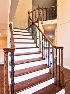 Amedore Homes SOMERVILLE I The Estates at Canterbury Crossing Stairs Foyer