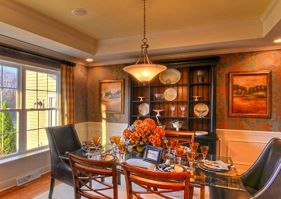 PRESTON II Collection - The Estates at Canterbury Crossing Model Dining Room