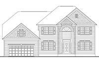 Amadore Homes ARLINGTON Collection Country Manor Elevation