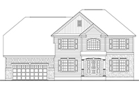Amadore Homes ARLINGTON Collection Town & Country Elevation