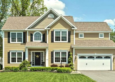 exterior image of the belle grove by amedore homes