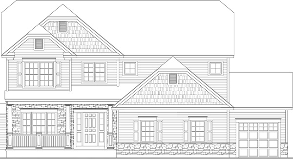 Amedore Homes Madison-AC-Elevation