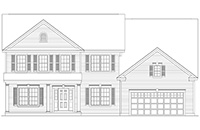 Amedore Homes Cambridge drawing 3