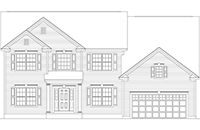 Amedore Homes Cambridge drawing 1