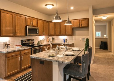 Yates Farm Condominiums Kitchen