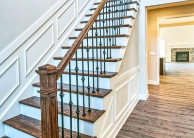 iron railings and staircase
